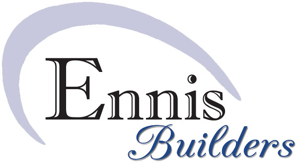 Ennis Builders logo 11 2006 color